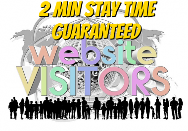 5000 Verified 2min+ stay time guaranteed organic website Traffic
