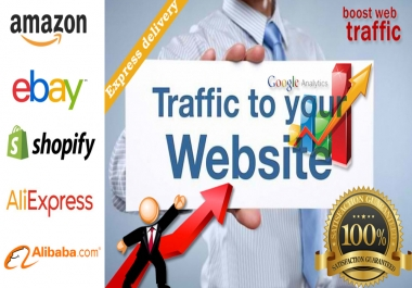 Promote any Website of Amazon, eBay, Shopify, AliExpress, Alibaba online store