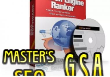 run three(3) days gsa search engine ranker campaign