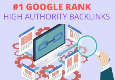 Build high authority SEO backlinks manual link building