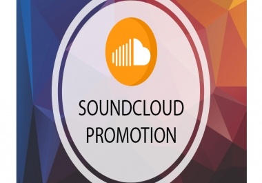 Promote your SoundCloud to our Communities - Growth Service
