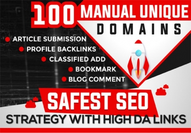 100+ Do-Follow PR5-PR9 DA 30 -70+ High Domain Authority GOOGLE Backlinks