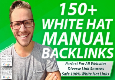 50 Edu 100 Wiki 100 Social Networks 50 Web Profile 100 Artice Backlinks - Manual Work
