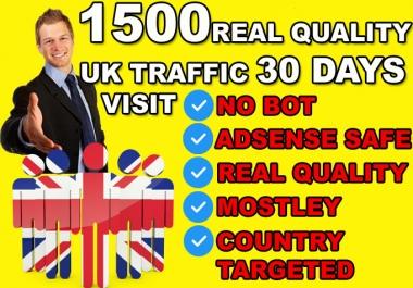 send uk website traffic visitors,keyword country target