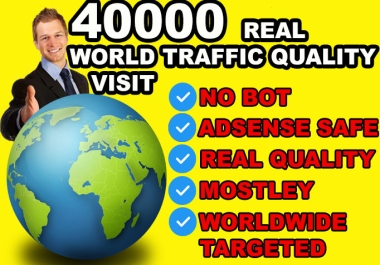 send real quality Unlimited WORLD Targeted Website Traffic Social Visitors