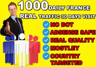 DRIVE 30000 FRANCE Real quality Visitors To Your Website