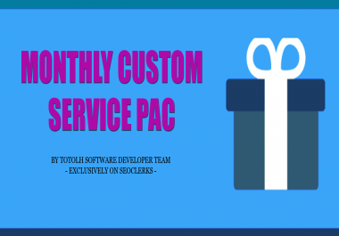 Software Addon Service - Monthly Custom Service For My Clients