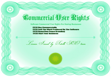 Get a Software Commercial user rights or Order a Custom Bot Software For Your Startup Business