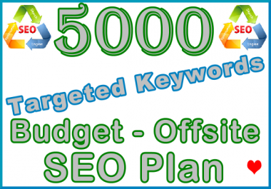 Target 5,000 Keywords with Offsite SEO Importance