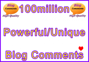 100million Tiered SEO Ultra-Safe Blog Comments