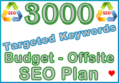 Target 3,000 Keywords with Offsite SEO Importance