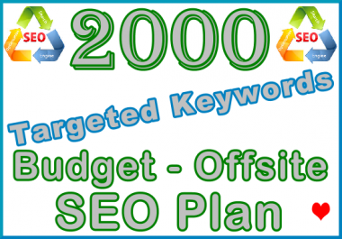Target 2,000 Keywords with Offsite SEO Importance