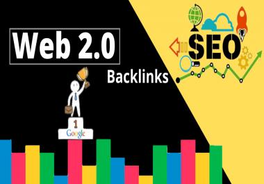 Web 2.0 High-Quality 25 Top Rated DA-PA Backlinks