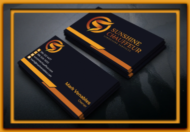 2 Styles Print Ready Premium Business Card Designs in 24hrs