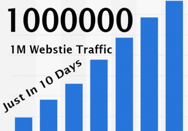 Drive 1 Million 1,000,000 Visitors Traffic Within 10 Days