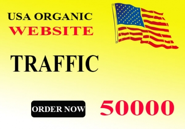 Give 50000 USA Website Traffic Within 1 Day
