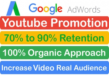 High Retention YouTube video Promotion Via Google Adwords