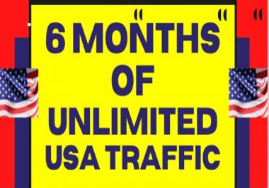 Keyword Targeted 6 Month Real Website Visitors Traffic (USA, UK, Canada)
