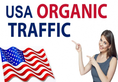Boost Website keyword real and organic targeted USA web traffic for 30 Days