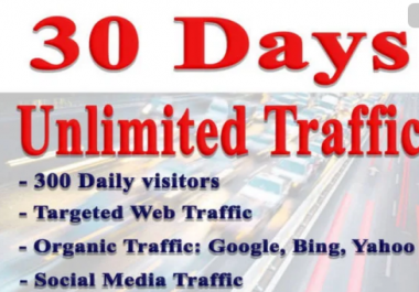 Bring Real Visitors,Targeted Web Traffic,From Usa,Uk for WHOLE MONTH 30 Days