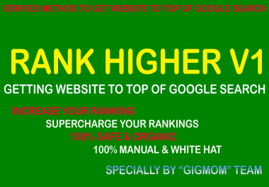 Rank Higher v1 Getting Website To Top Of Google Search