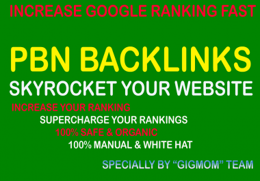 Amazing 5 PBN Backlinks TF 21+ Unique Content, IP to Skyrocket Website