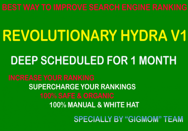 Revolutionary Hydra v1 - Best Way to Improve Search Engine Ranking