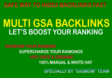 Massive 15,000 Multi GSA Backlinks to Index Backlinks Fast