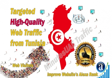 Tunisian web visitors real targeted high-quality web traffic from Tunisia