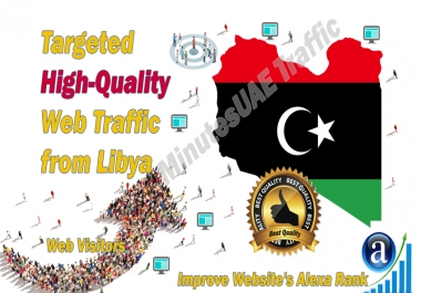 Libyan web visitors real targeted high-quality web traffic from Libya
