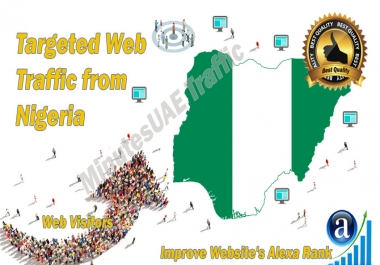 Nigerian web visitors real targeted high-quality web traffic from Nigeria