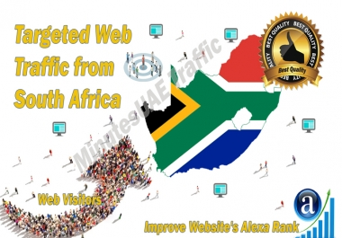 South African web visitors real targeted high-quality web traffic from South Africa