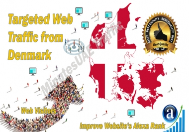 Danish web visitors real targeted high-quality web traffic from Denmark