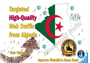 Algerian web visitors real targeted high-quality web traffic from Algeria