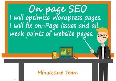 improve On-Page SEO Optimization For Wordpress Website