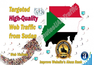 Sudanese web visitors real targeted high-quality web traffic from Sudan