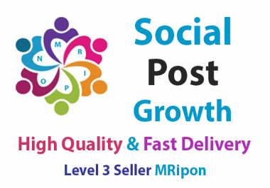 Add Instant High Quality Social Photo Post Growth