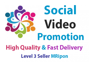 Get Instant High Quality Non-Drop Video Promotion