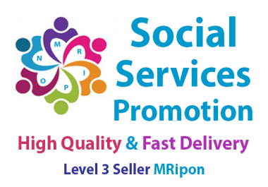 Get Instant Social Services Promotion