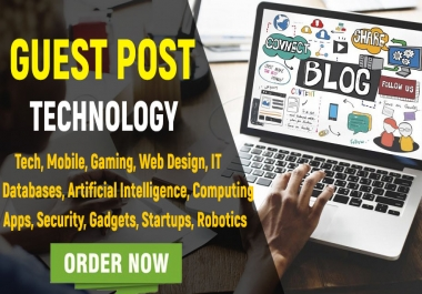 Publish a Guest Post on Technology Blog