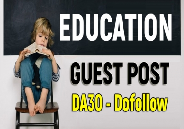 do guest post on Education niche blog