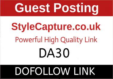 I will Guest Post On Style Capture, StyleCapture.co.uk