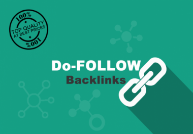I will Provide high quality 1000 Do-Follow backlinks