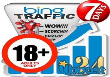 Adult Search Traffic from Bing (XXX & 18+)