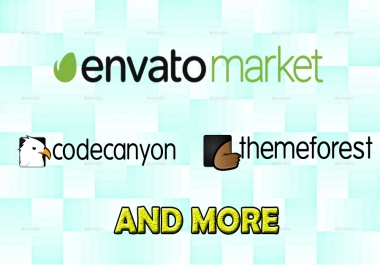 Themeforest,Codecanyon And More Site premium Theme, Plugin, script