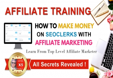 Advanced Seoclerks Affiliate Coaching Course With Free Bonuses