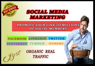 promote your link to social media networks