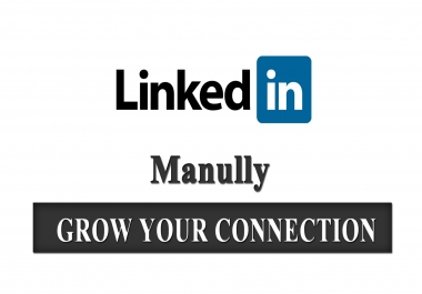 send invitation manually for grow connections on linkedin
