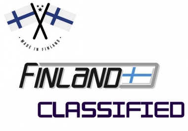 promote your ads in 10 high traffic finland classified sites , finnish
