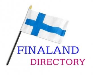 build 21 finland directory , finnish backlink